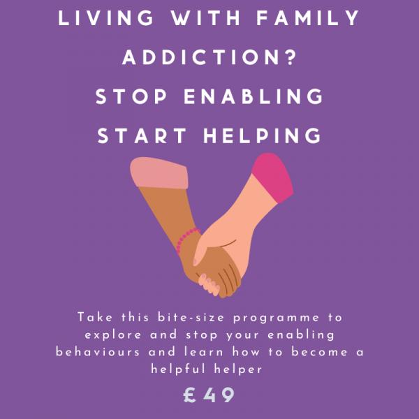 STOP ENABLING START HELPING